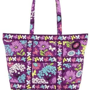 NWT Vera Bradley Tic tac Tote Flutterby